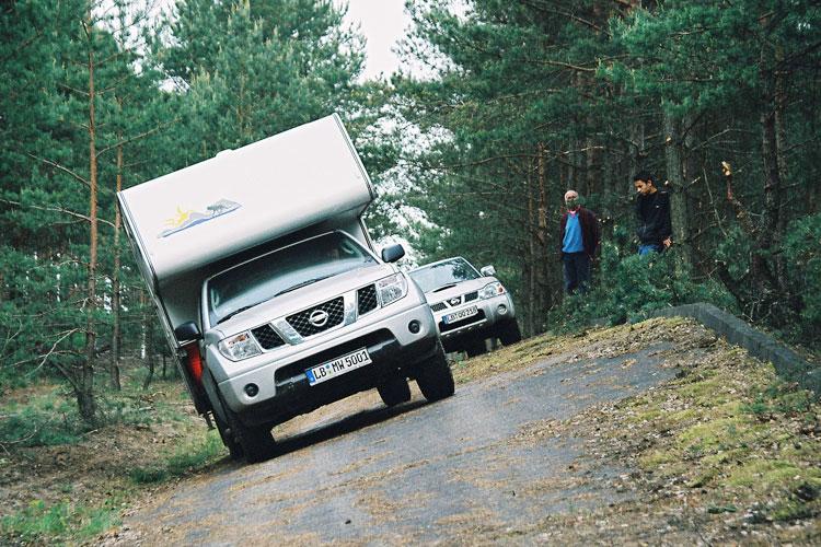 Pick-up als Wohnwagen